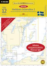 Delius Klasing Digitale Seekarte Satz 12 Schweden