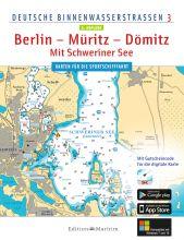 Delius Klasing, Binnenkarte Berlin Müritz Dömitz Schweriner See