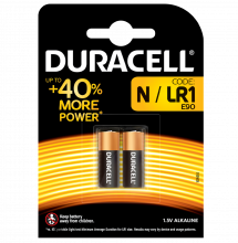 Duracell, Batterie Power Alkaline N (LR01) Lady, 2-er Pack
