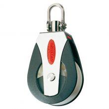 Ronstan, Einfachblock Hochlast HL mit Schäkelkopf, 50mm