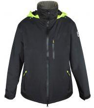 C4S, Segeljacke Deck Jacket, Schwarz