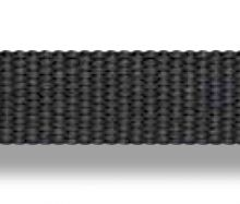 Liros, Technora- Gurtband T-Webbing schwarz, 13mm