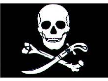 Talamex, Flagge Pirat schwarz