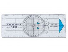 Lindemann, Portland Navigations- Plotter, 36cm