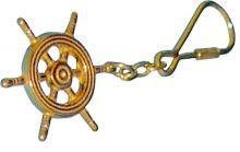 Navyline, Schlüsselanhänger Steuerrad, Messing
