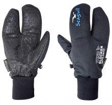 C4S, Schwerwetter- Segelhandschuh Seagull Split Gloves, Schwarz