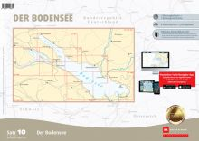 Delius Klasing, Sportbootkartensatz 10, Bodensee