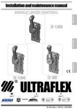 Ultraflex, Schalthebel mit Trimmschalter B184